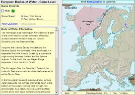 Interactive Map Of Europe by Interactive Map Of Europe Oceans And Lakes Of Europe Game