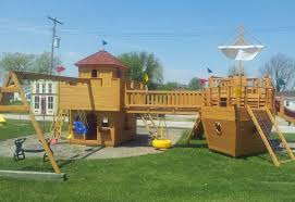 bosman home front visit for play mor wooden play structures i