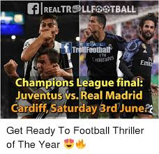 Real Madrid Meme - realtrltball trolrfoothali fiv emirates emira chions league