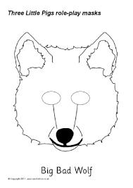 free printable colour role play masks sparklebox