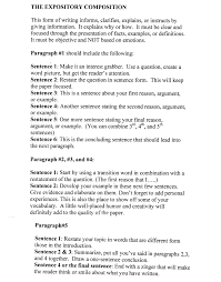 Examples Of A Chronological Resume by How Essay Explanation Sample Essay Topics For College Admissions