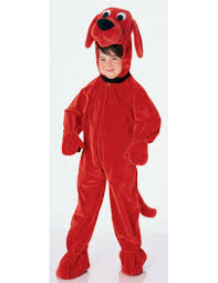 amazon com clifford the big red dog deluxe child costume toys