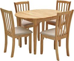 Oak Extending Dining Table And 4 Chairs Impressive Design Extendable Dining Table And Chairs Extendable