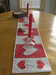 valentine s day table runner valentine table runner ruffled heartstrings pink and red table