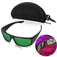 safety glasses with lights led grow room safety glasses color correction protective goggles
