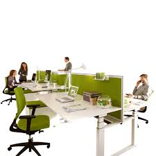 Adjustable Desk Height by Temptation Twin Bench Desks Height Adjustable Desks Apres
