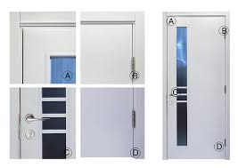 Interior Wood Doors With Frosted Glass Modern Popular Office Interior Frosted Glass Wood Door Design With