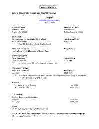 exles of work resumes resume exles great 10 college resume template word design