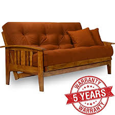 solid wood futon frame com westfield wood futon frame full size kitchen dining