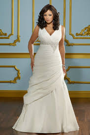 wedding dresses for larger v neck plus size dresses white plus size dress cheap v neck