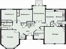 house floor plans 4 bedrooms floor plan bungalow house plans designs uk homes zone uk house