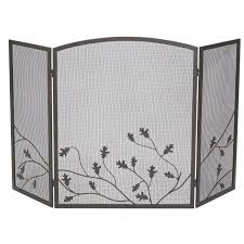 Mesh Curtain Fireplace Screen Fireplace Screens Spark Guards U0026 Fire Screens At Ace Hardware