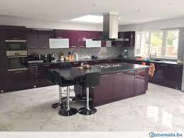 cuisine laquee meuble de cuisine laquee brillant 4 elements neuve a vendre