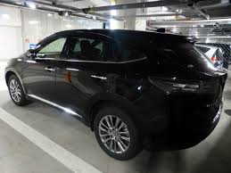 toyota harrier 2012 file toyota harrier premium zus60w left jpg wikimedia commons