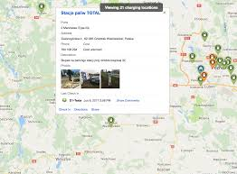 Tesla Charging Station Map Driving A Tesla Model S To The Polish Boonies Cleantechnica