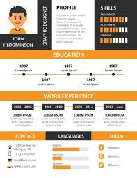 Infographic Resume Maker 17 Infographic Resume Templates Free Download