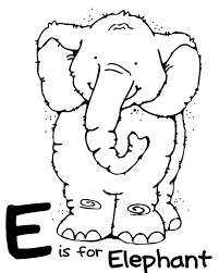 horton hatches the egg coloring pages we love being moms letter e elephant