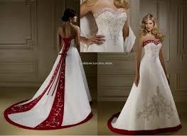 red and white wedding dresses david s bridal wedding dresses