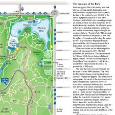 Map Central Park Map And Guide To Central Park New York City Folding Pocket