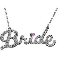 bride necklace images Rhinestone bride necklace jpg
