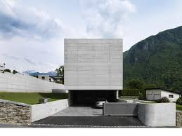 monolithic elemental concrete modern house design home