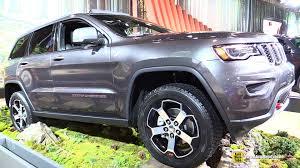 jeep cherokee gray 2017 2017 jeep grand cherokee trailhawk exterior walkaround 2016