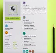 Best Looking Resume by Resume Template With Photo Cover Letter Cv Template Word Us