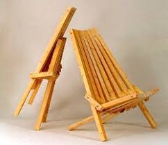 this folding outdoor chair is easy to make good looking and very