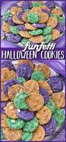 funfetti halloween cookies butter with a side of bread