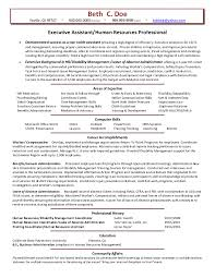 hr resume example human resources executive resume hr director