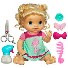 amazon com hasbro blonde baby doll toys u0026 games