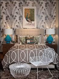 get a distinctive charm with peacock home décor