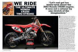 Motocross Action Magazine Have You Seen The New Mxa Jam Packed