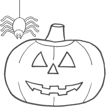 halloween coloring pages jack o lantern coloring page