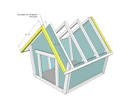 how to make everything 6 free dog house plans