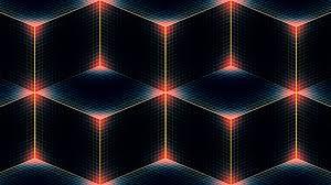 download wallpaper 1920x1080 line shade color square diamond