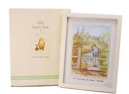 amazoncom set of 2 classic winnie the pooh nursery wall art