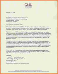 Sample Letter Of Recommendation From Teacher Recommendation Letter Graduate From Professor Cover
