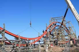 Six Flags San Antonio Zero G Barrel Roll Complete At Six Flags Fiesta Texas Amusement