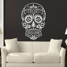 sugar skull wallpaper for walls galleryimage co