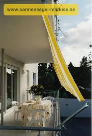 balkon regenschutz sonnensegel in seilspanntechnik sonnensegel markise