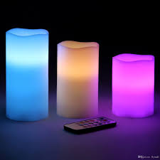 light and battery store battery powered flameless led candles 12 changing colors waterproof