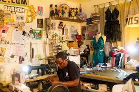 Designer Room - have you ever heard of fashion designer barron wise broke and