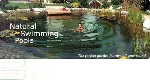 Natural Backyard Pools by A Biopool No Chemicals Eco Friendly And Beautiful Uses Plants