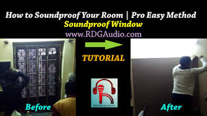 how to sound proof studio room acoustic panels windows pro easy