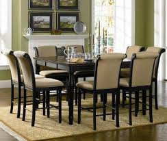 classic dining room decor with carpet