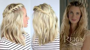 reign tv show hair styles twisted hairstyle inspired by reign youtube