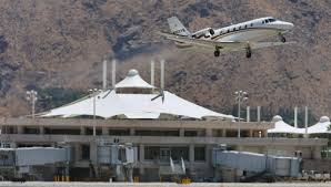 palm springs airport opening economy lot for thanksgiving travel