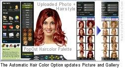hair color simulator hair color change simulator hairstyle trend hairstyle trends
