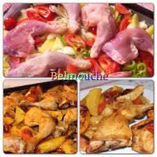 comment cuisiner une cuisse de poulet recette de cuisses de poulet au four avec légumes facile